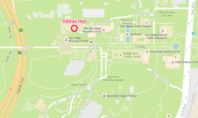 Hattox Hall, location of the Wiki Culture Crawl on October 7, 2016